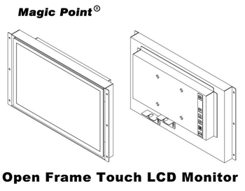 """12.1""""Open Frame Touch LCD Monitor"""